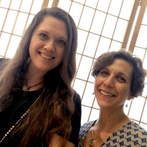 Rebecca Risher and Lisa Feder, Hosts for the Irish Retreat