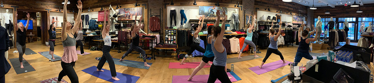 Corporate Yoga Class Athleta