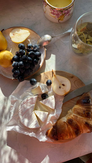 Create a ritual of a good meal.